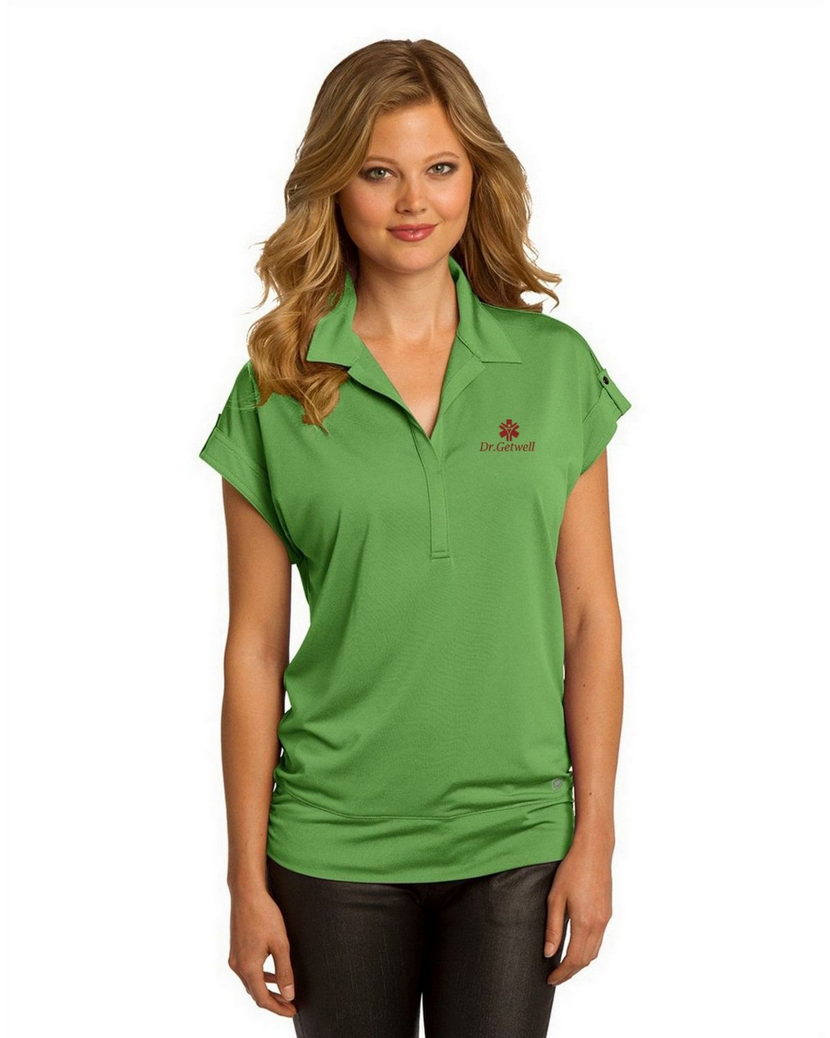 Buy Logo Embroidered Ogio Log119 Leveler Polo Shirt For Women