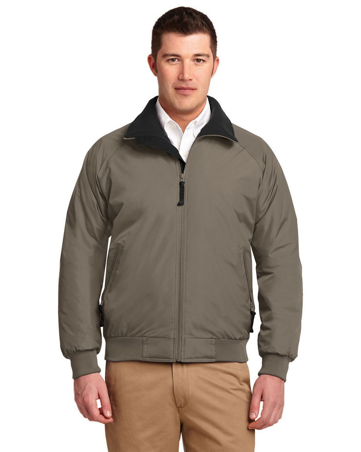 Port Authority J754 Challenger Jacket - Steel Grey/True Black - L J754
