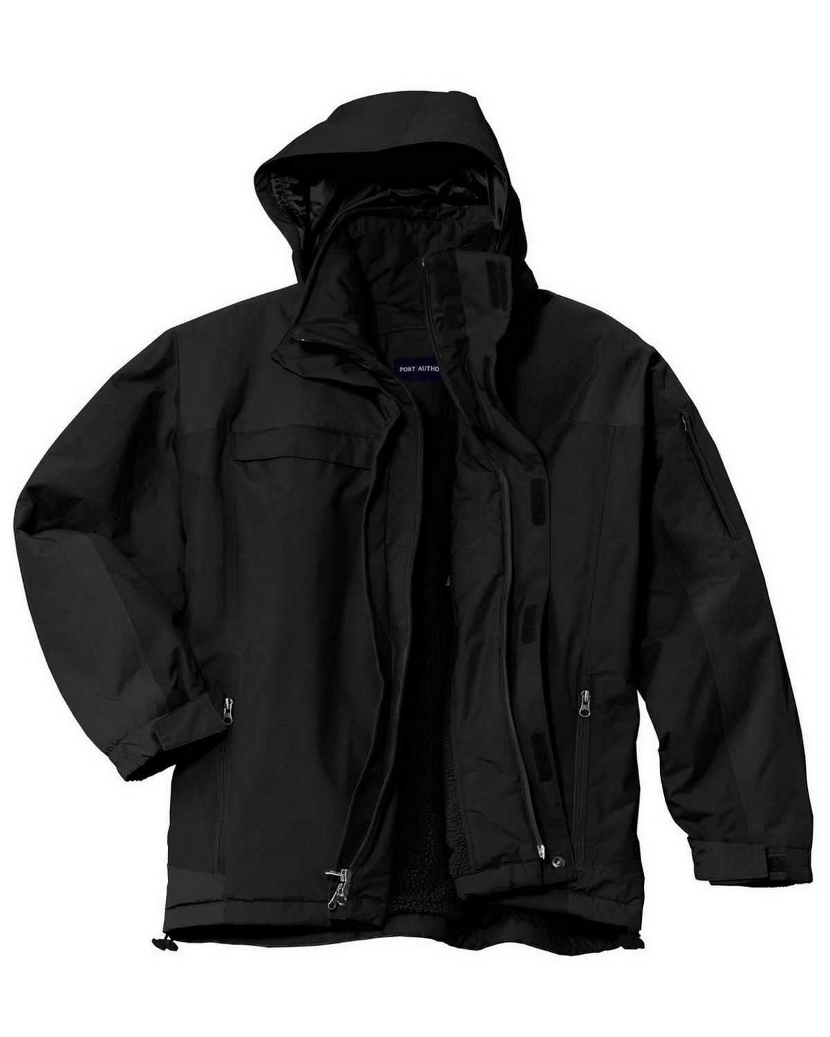 Port Authority J792 Nootka Jacket - Graphite/Black - L J792