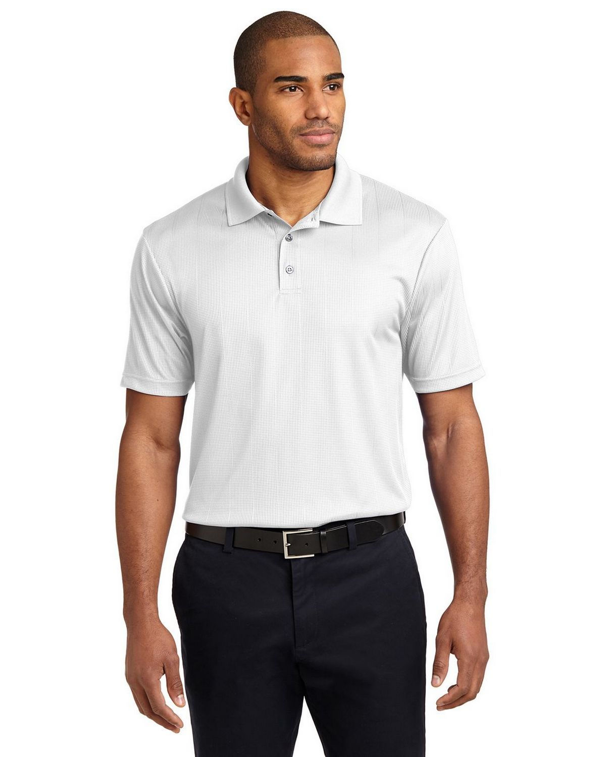 6e1fa2ae8fc Buy Port Authority K528 Performance Fine Jacquard Polo