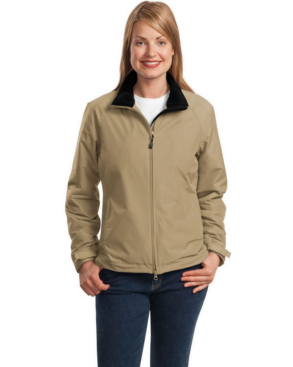 Port Authority L354 Ladies Challenger Jacket - True Red/True Black - XXL L354
