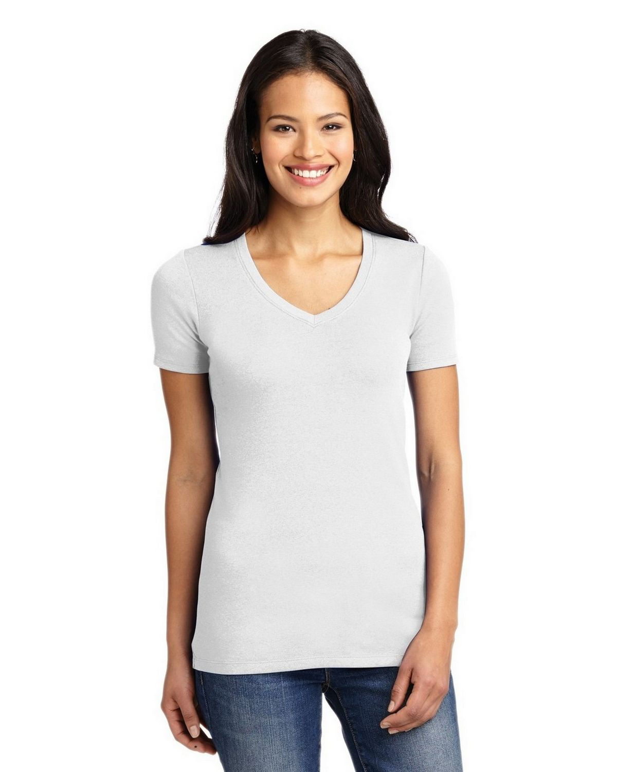 f66f63397a1f Buy Port Authority LM1005 Ladies Concept Stretch V-Neck Tee