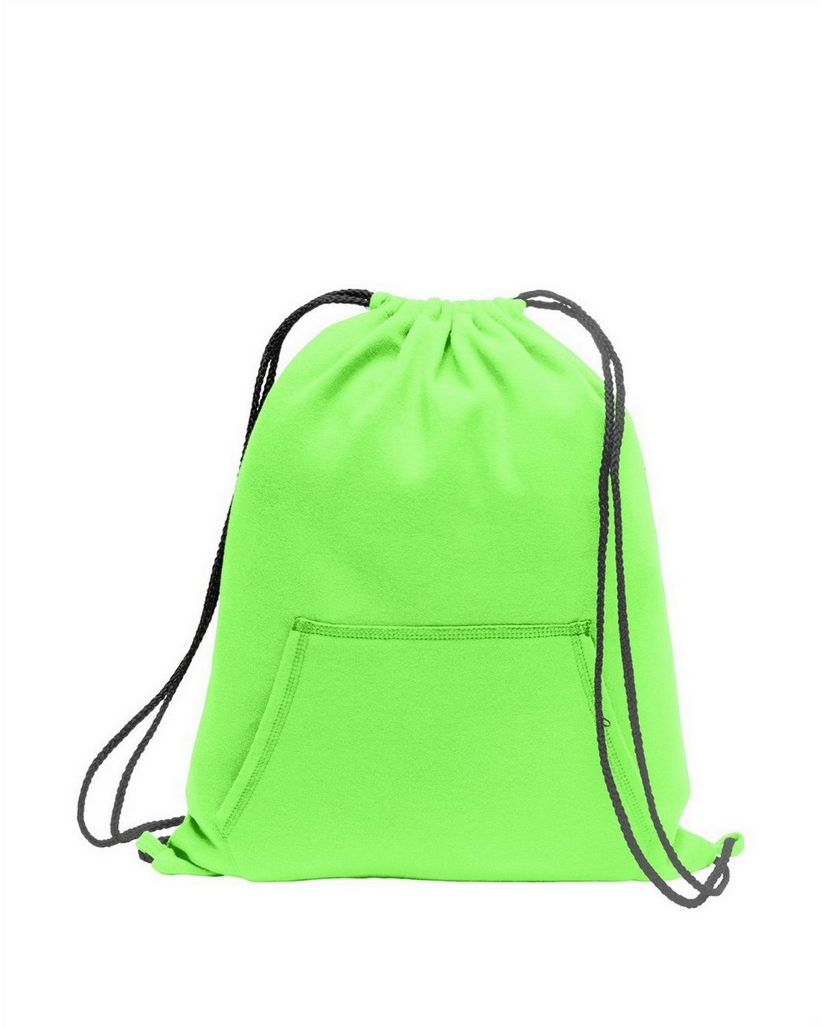 Buy Port Company Bg614 Sweatshirt Cinch Pack Allegra Green Army Diaper Backpack Neon