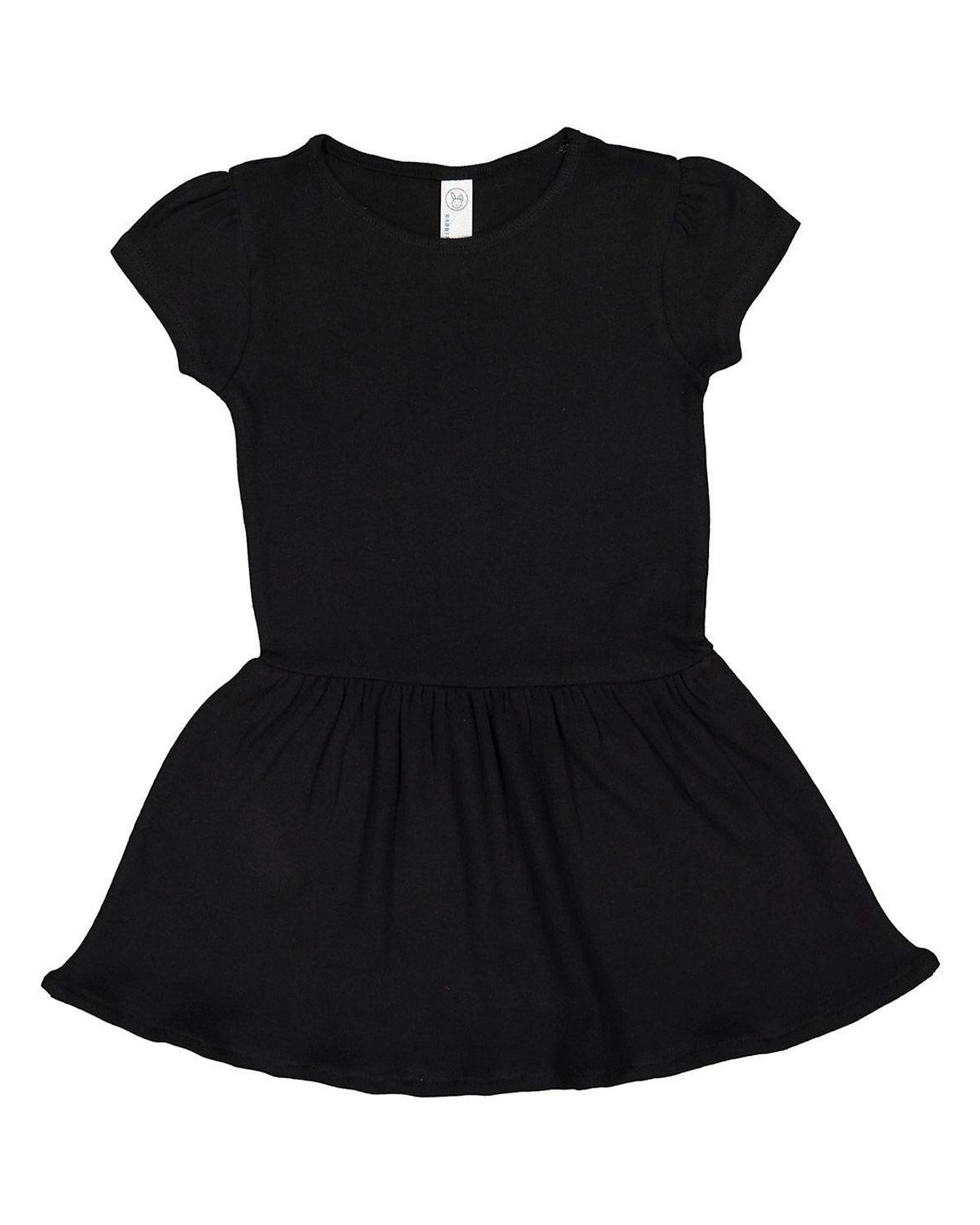 f74aad233 Rabbit Skins 5323 Toddler Baby Rib Dress - Free Shipping Available