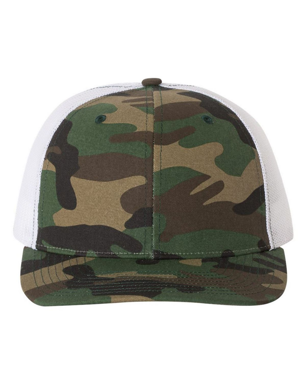 d73f5b3f89d8f Richardson 112P Patterned Snapback Trucker Cap - Free Shipping Available