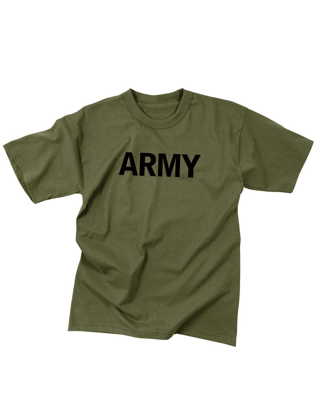 566c1156 Rothco 60136 Olive Drab Military Physical Training T-Shirt