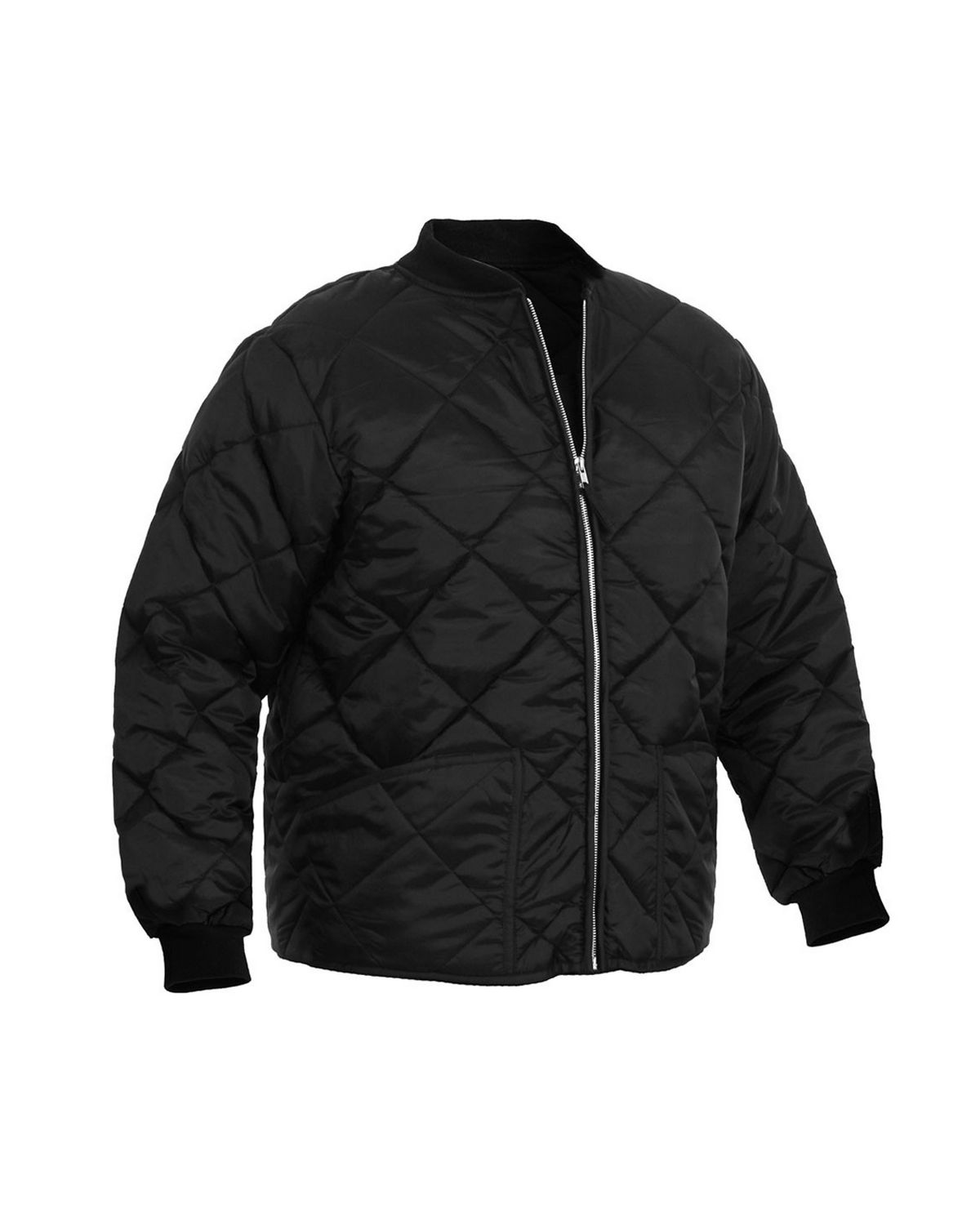 Rothco 7160 Diamond Nylon Quilted Flight Jacket Free