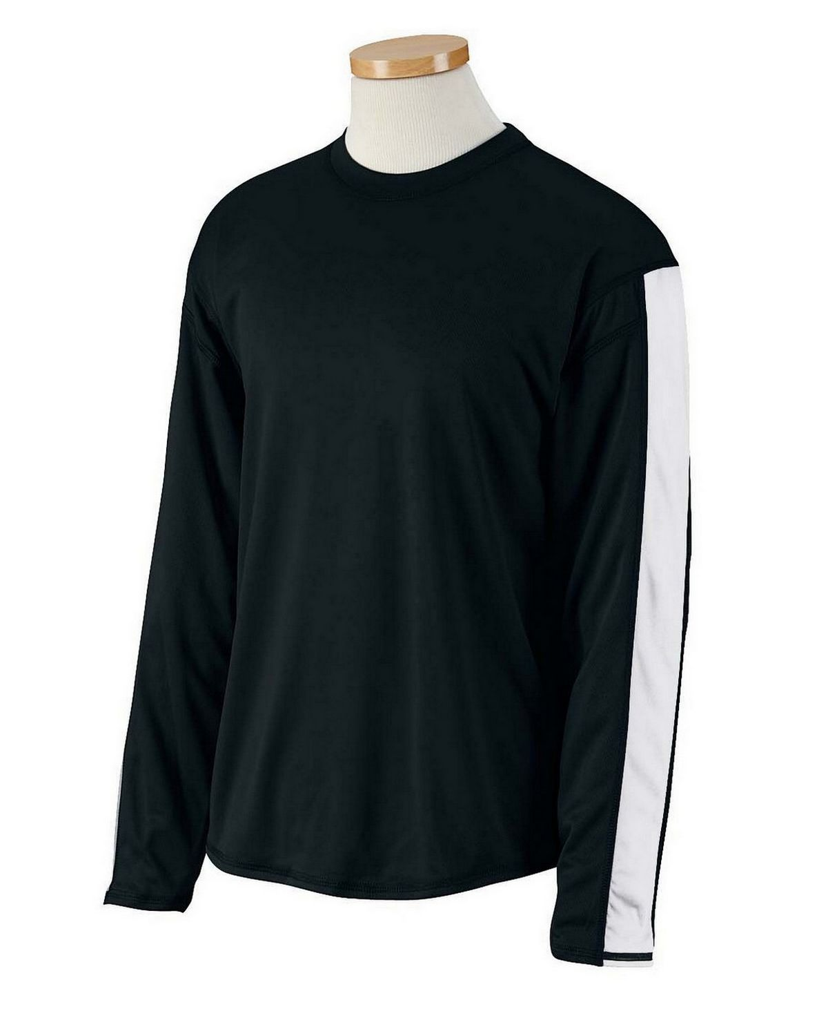cc9eb0da Russell Athletic 6B5DPM Dri-Power Long-Sleeve Performance T-Shirt.  Decoration. Model image. May not reflect selected color. No Picture