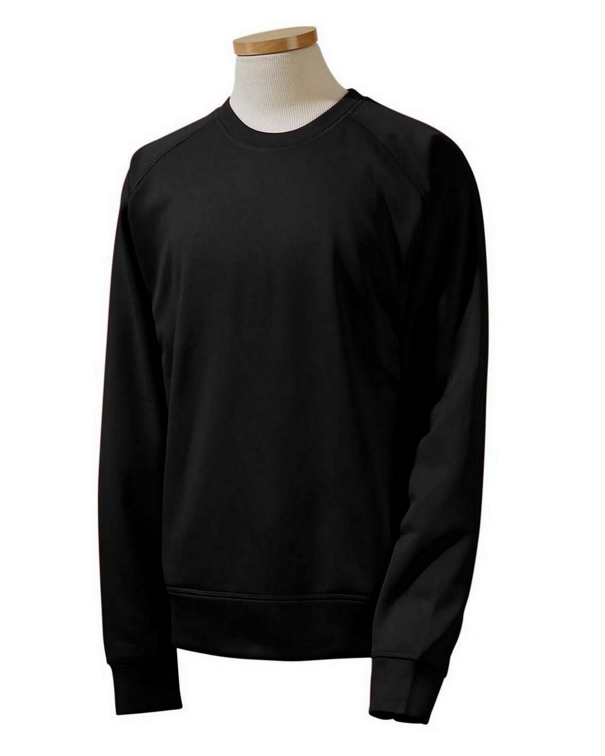Russell Athletic 852EFM Tech Fleece Crew - Black - M 852EFM