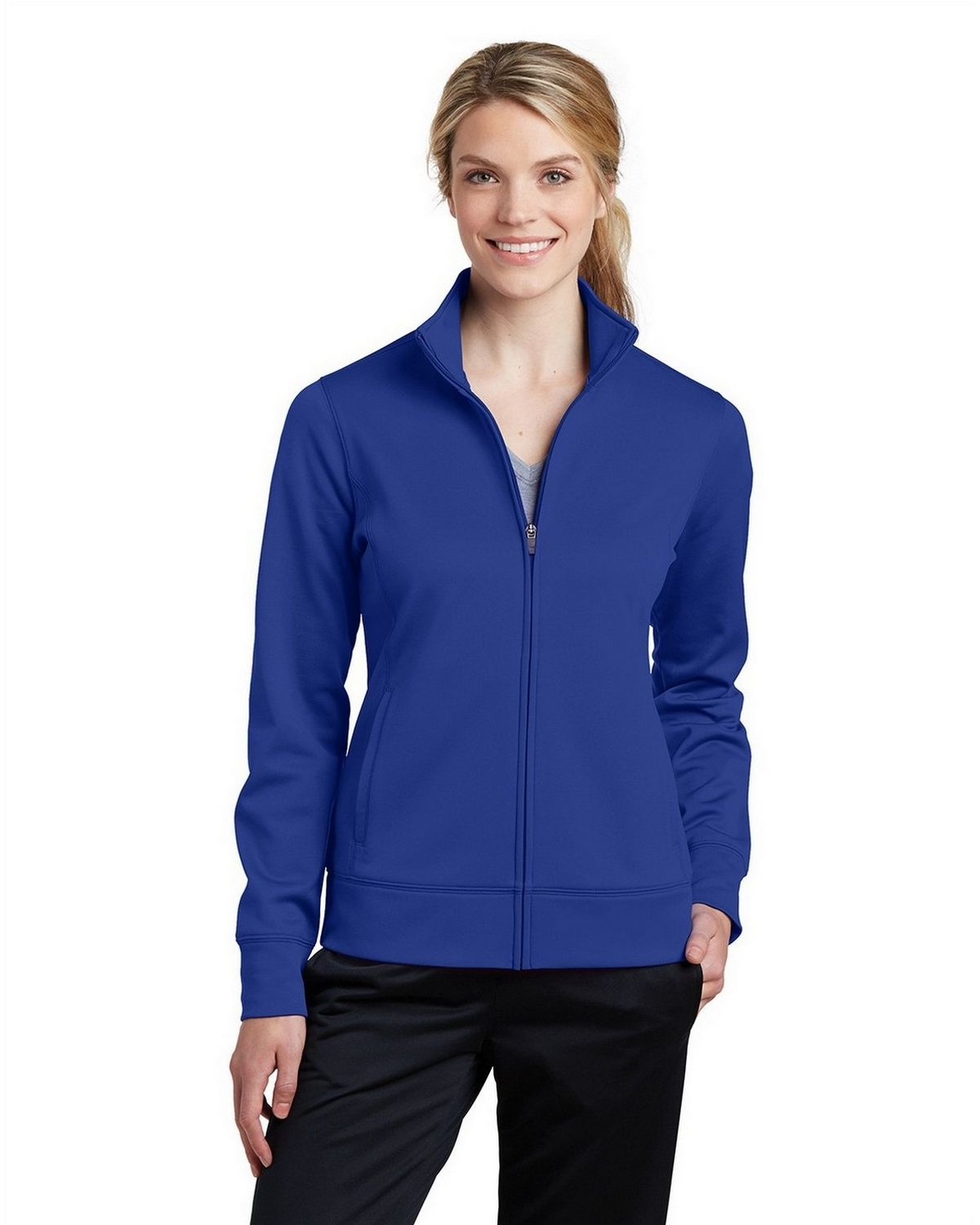 Sport-Tek LST241 Ladies Full-Zip Jacket - True Royal - XXL LST241