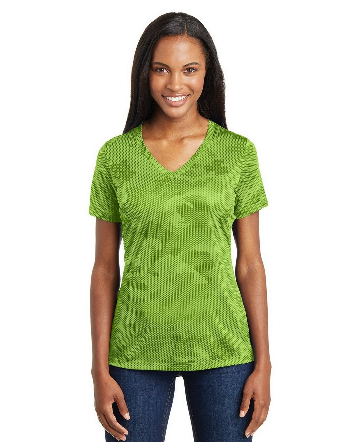 Sport Tek Lst370 Ladies Camohex V Neck T Shirt Find & download free graphic resources for sports shirt. sport tek lst370 women s camohex v neck t shirt