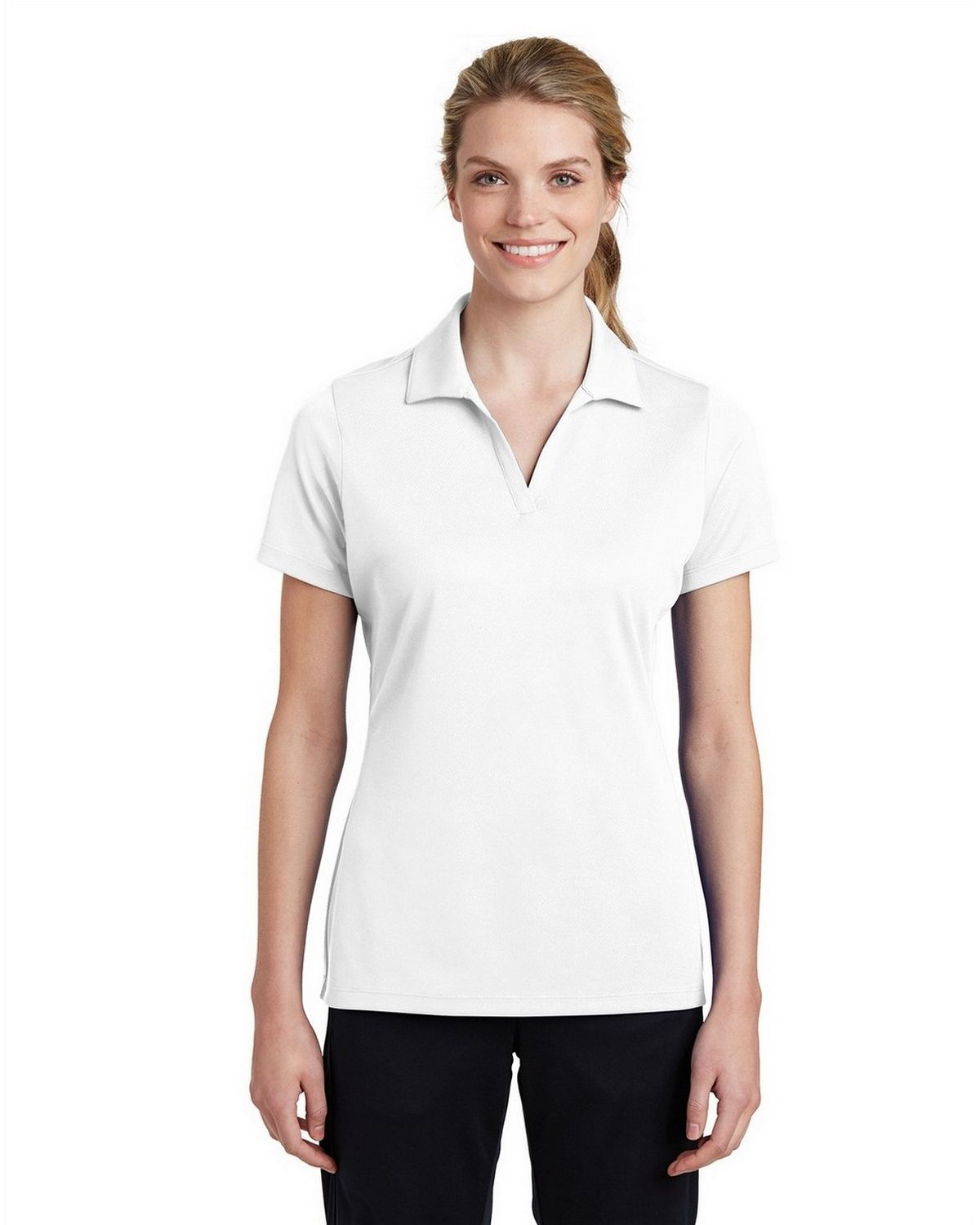 Sport Tek Lst640 Ladies Posicharge Racermesh Polo Lst655 ladies side colorblock performance polo. sport tek lst640 women s posicharge racermesh polo