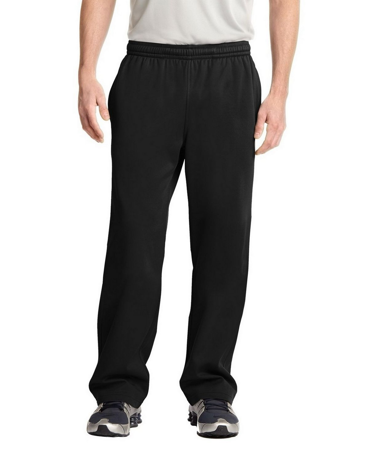 Sport-Tek ST237 Sport-Wick Fleece Pant - Dark Smoke Grey - XL ST237