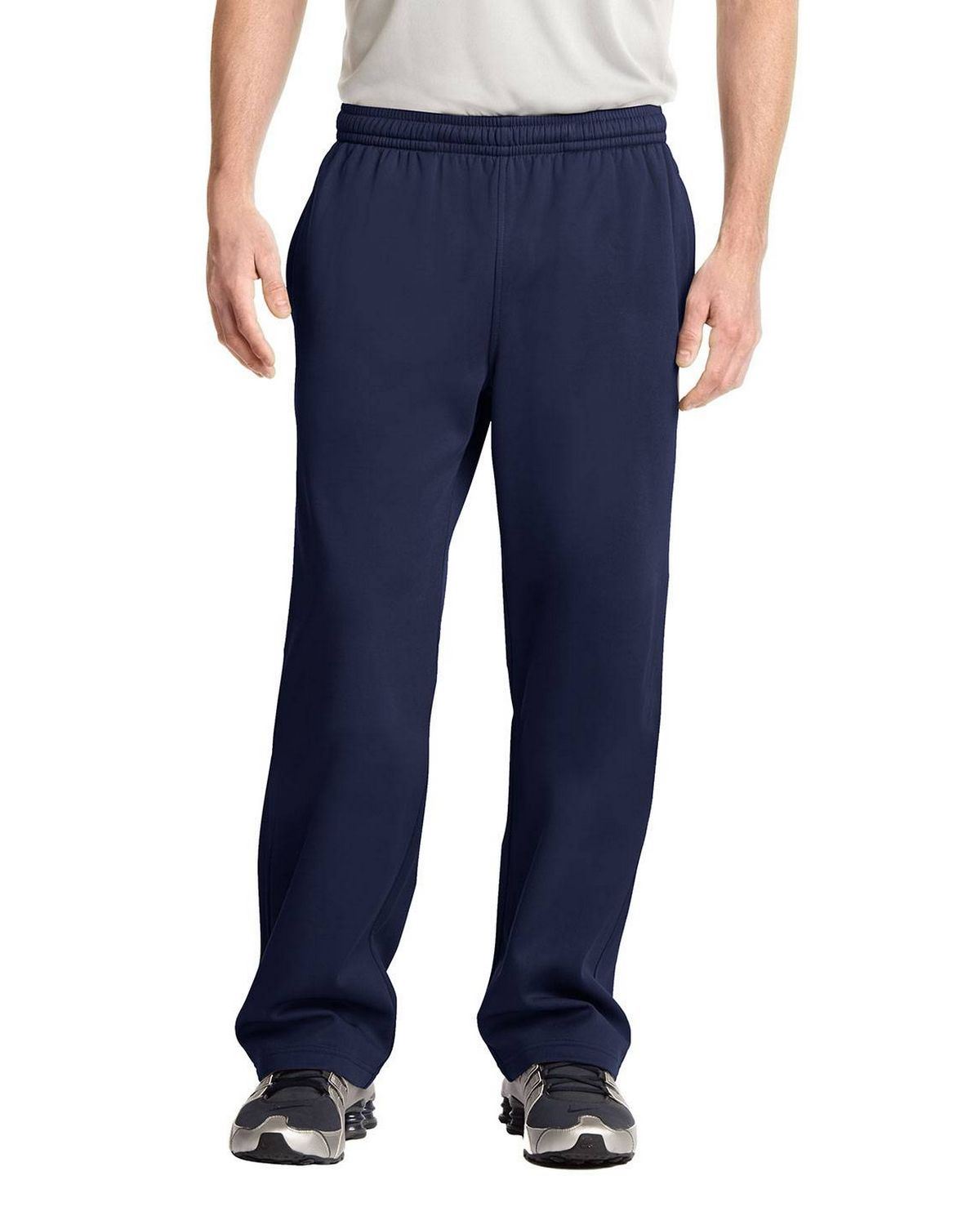 Sport-Tek ST237 Sport-Wick Fleece Pant - Dark Smoke Grey - XS ST237