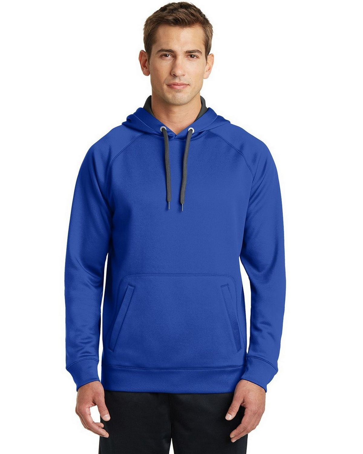 Sport-Tek ST250 Hooded Sweatshirt - True Royal - L ST250