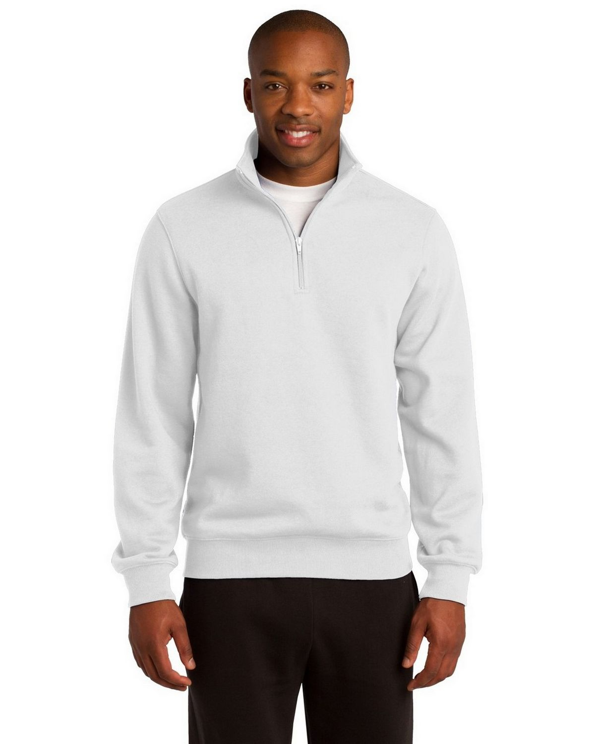 a7d4c0e99fe Sport-Tek ST253 1 4-Zip Sweatshirt by Port Authority - ApparelnBags.com