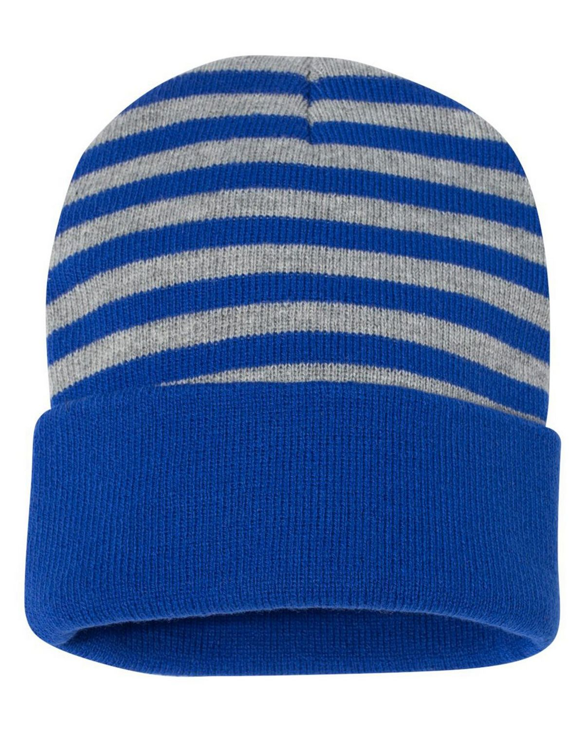 Sportsman SP12S 12 Inch Striped Knit Beanie