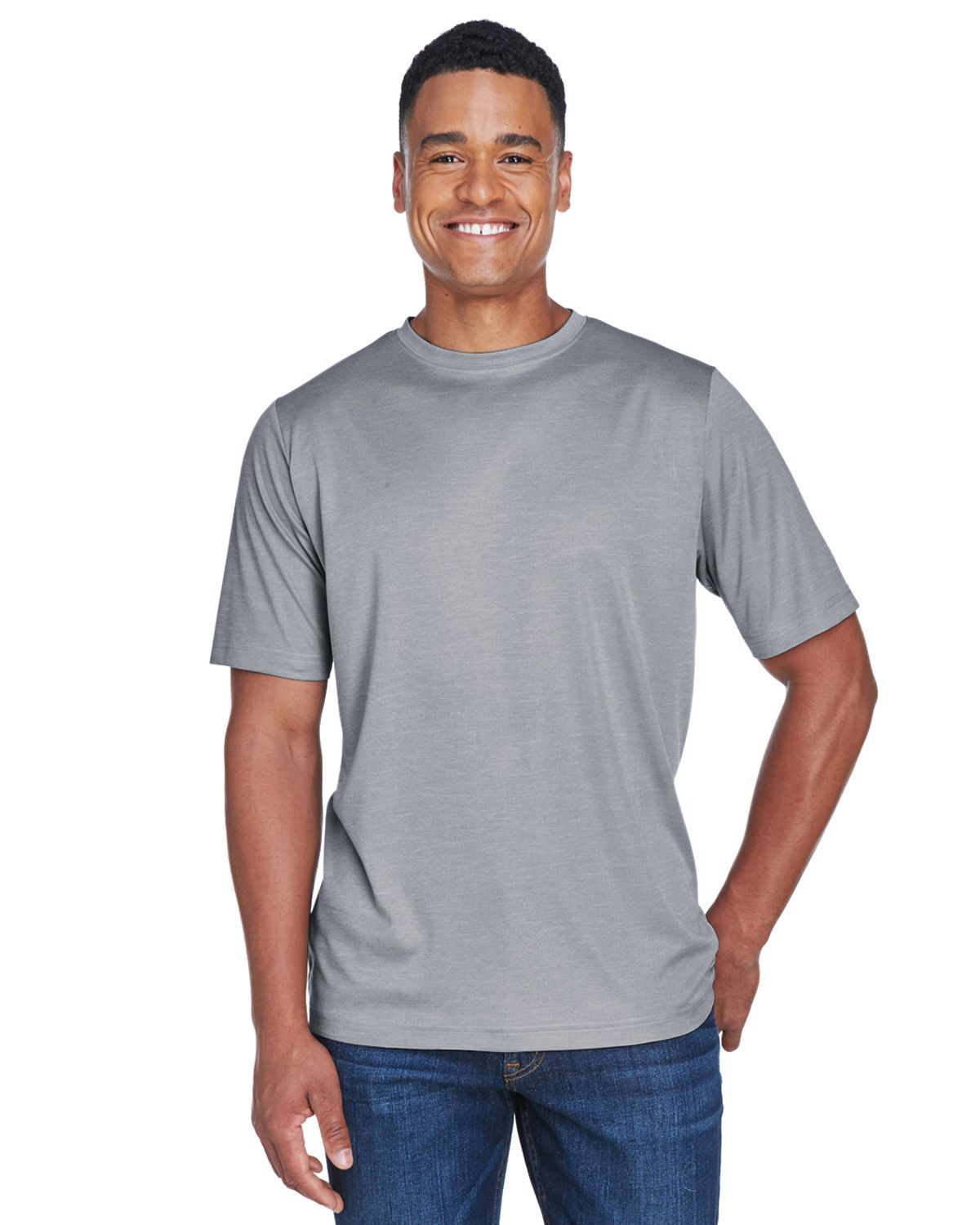 079fd2d9 Team 365 TT11H Mens Sonic Heather Performance T-Shirt