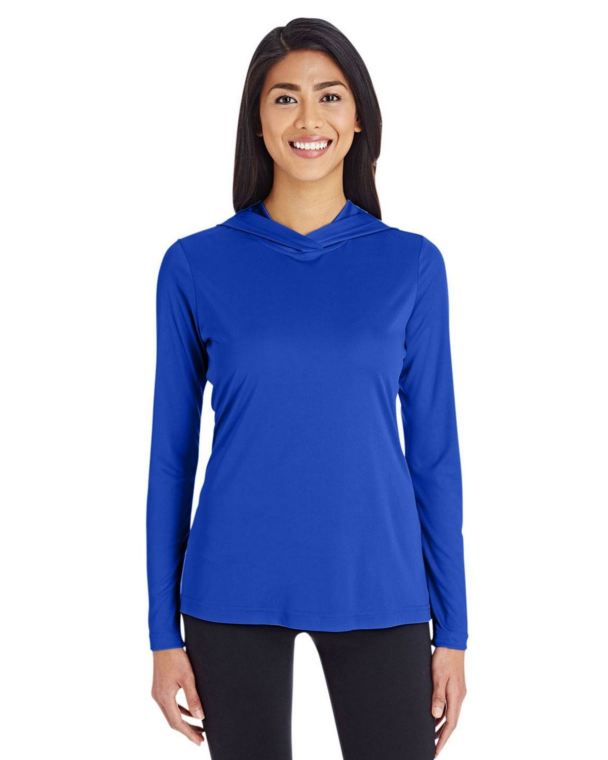 Team 365 TT41W Ladies Zone Hoodie - Sport Royal - XL TT41W