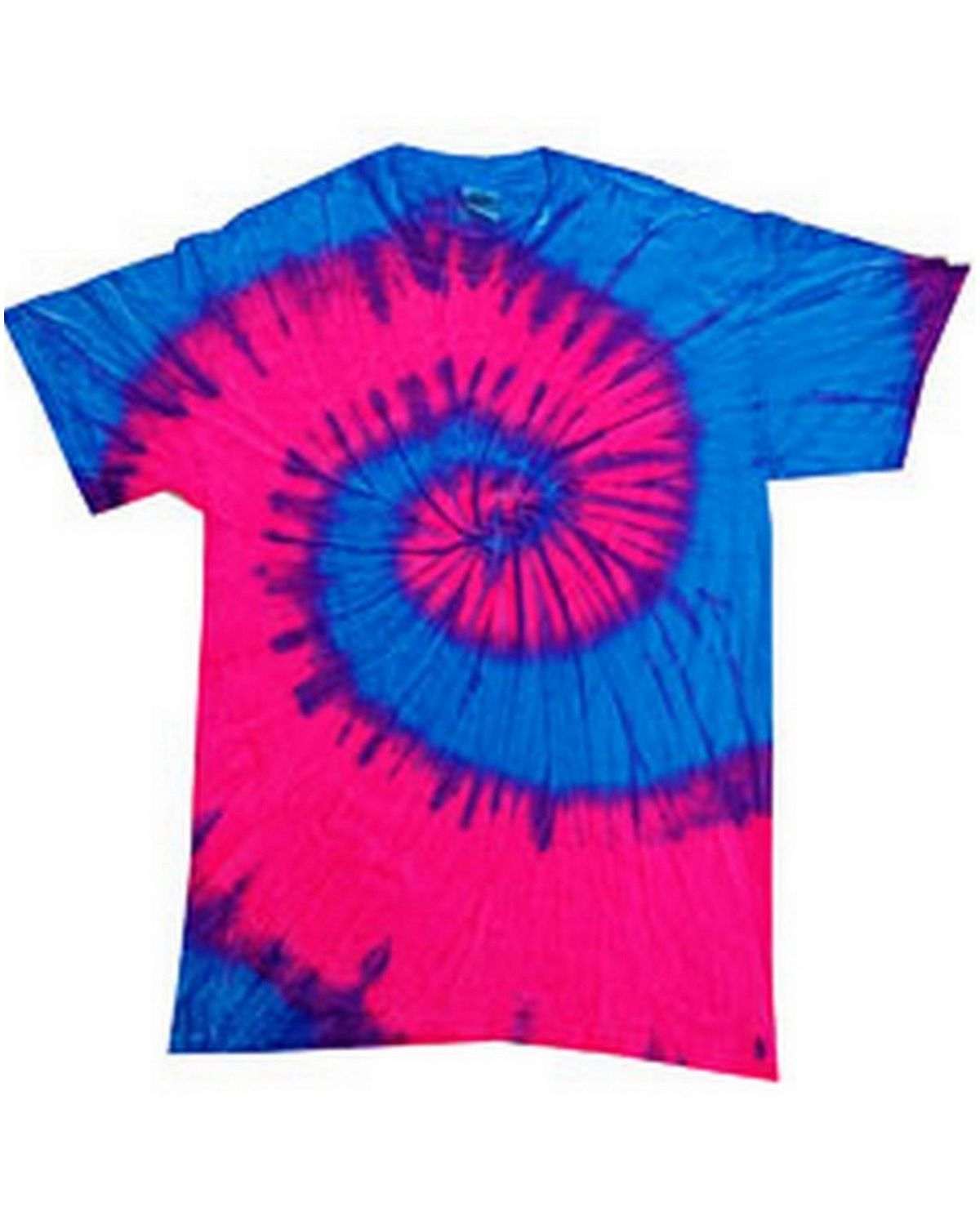 Tie-Dye CD100 100% Cotton Tie-Dyed T-Shirt - ApparelnBags.com