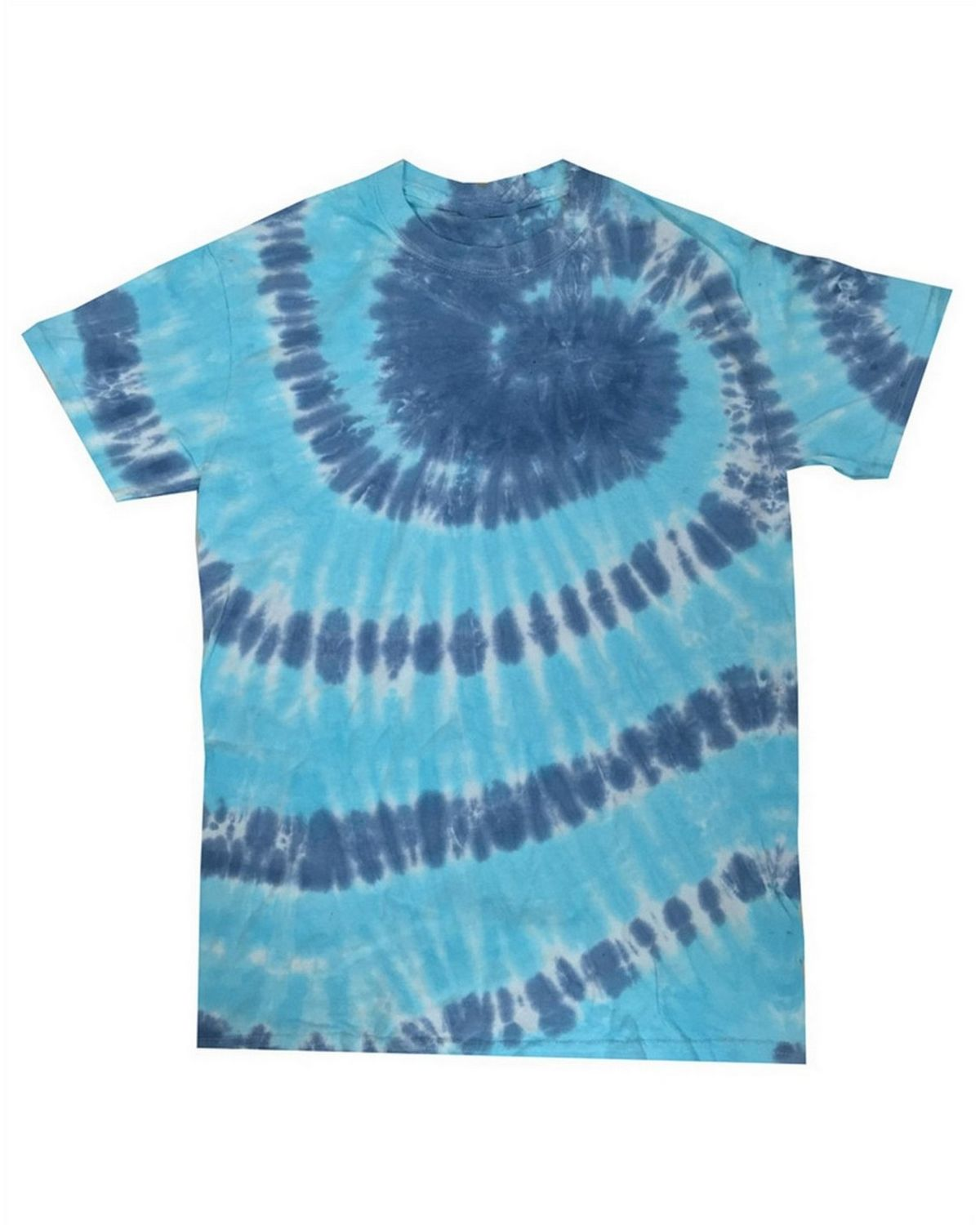 Tie-Dye CD100Y Youth 100% Cotton Tie-Dyed T-shirt - ApparelnBags.com