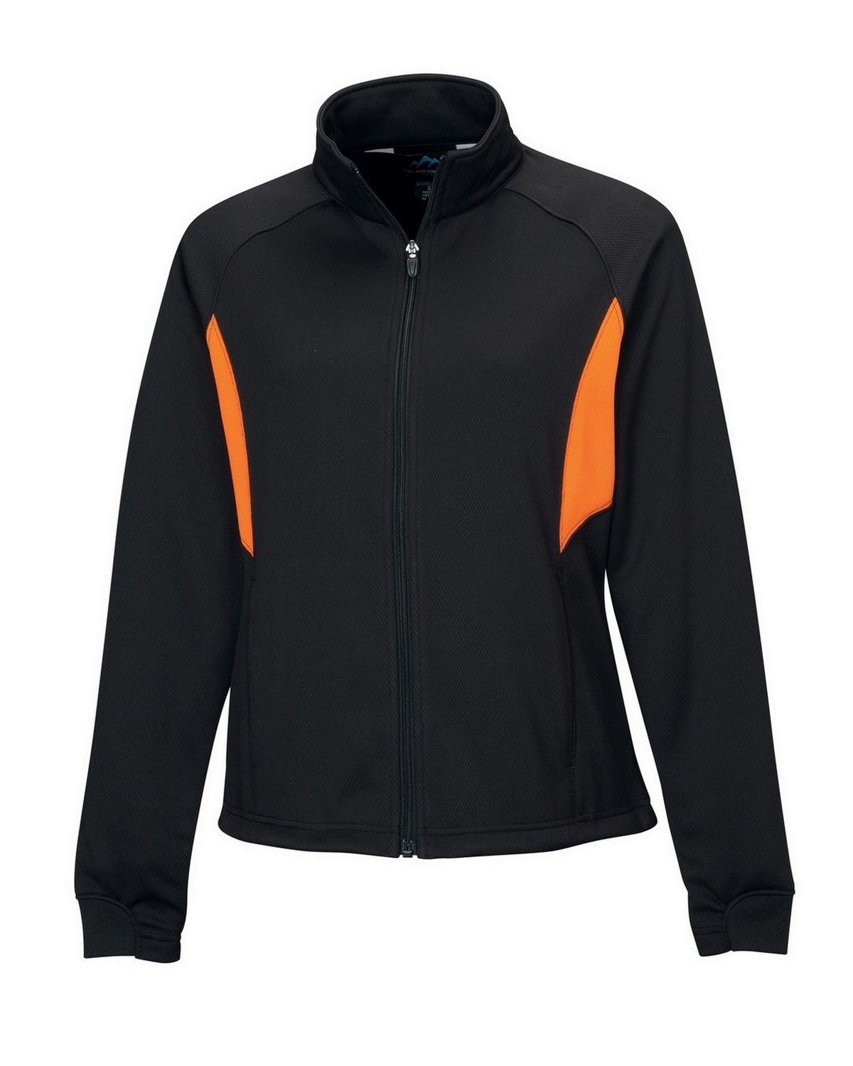 Tri-Mountain Performance 7346 Lady Tornado - Black/Dark Orange - L 7346