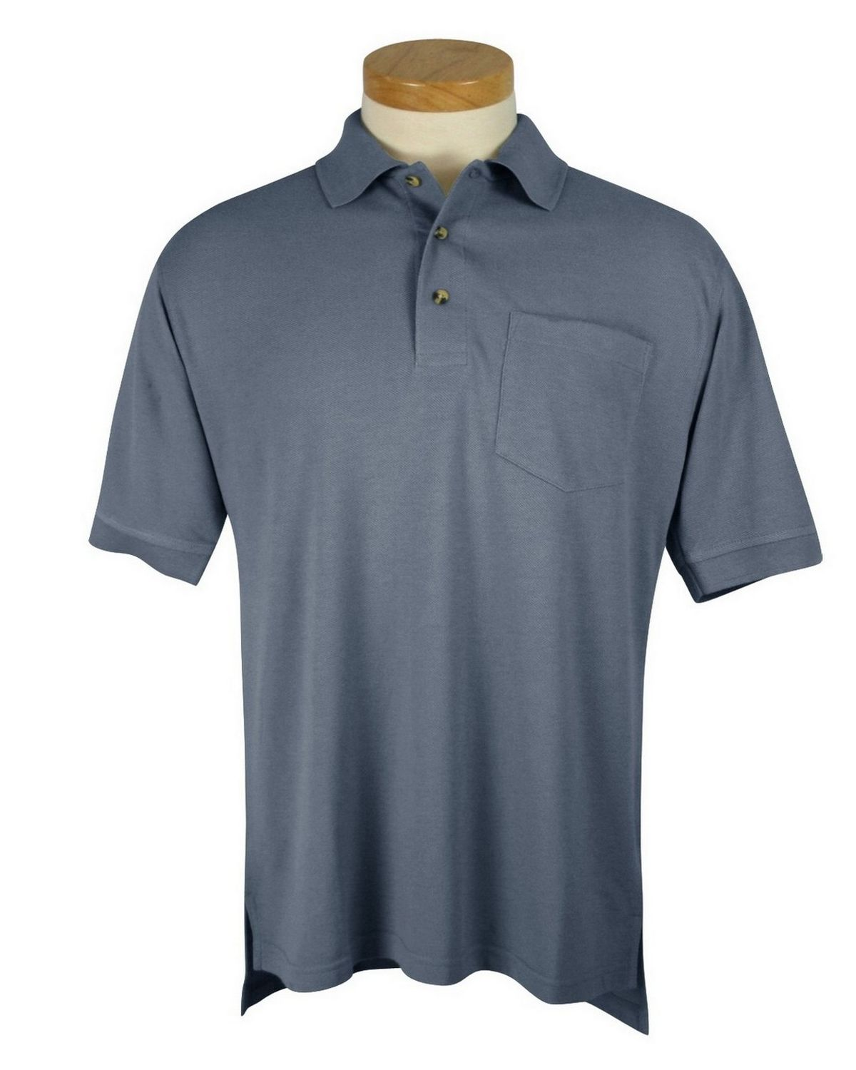 Buy Tri Mountain 106 Mens Pique Pocketed Golf Shirt