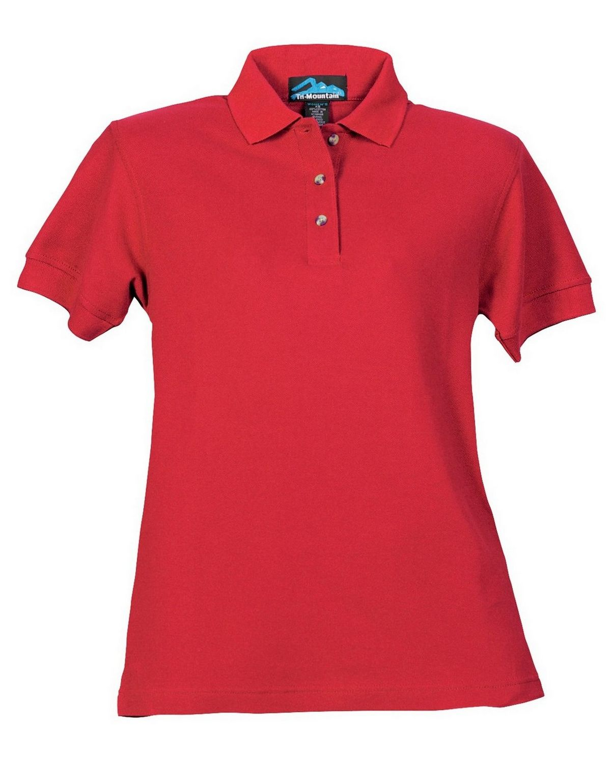 Tri-Mountain 166 Autograph Golf Shirt - Red - L 166