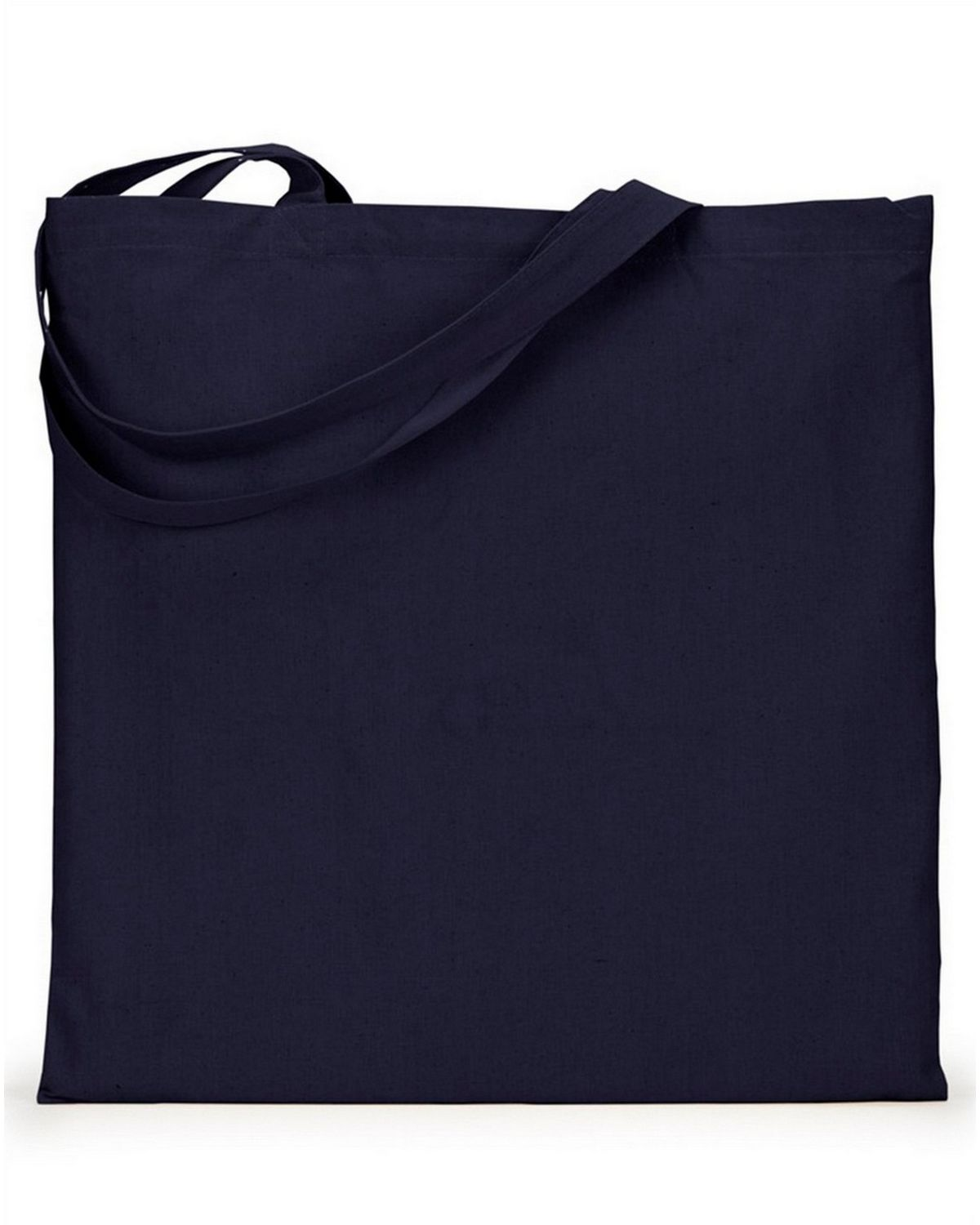 Liberty Bags 8865 Cotton Canvas Tote - Navy - One Size 8865