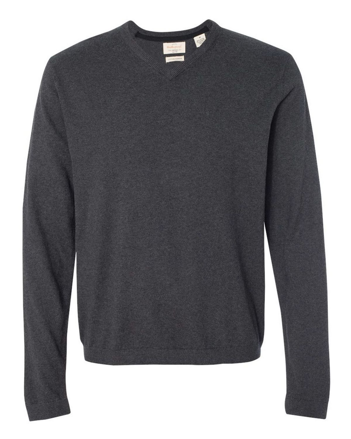 Weatherproof 151377 Men's Vintage Cotton Cashmere V Neck Sweater