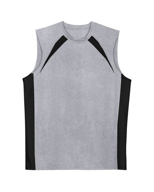 A4 N2347 Color Block Performance Muscle Tee