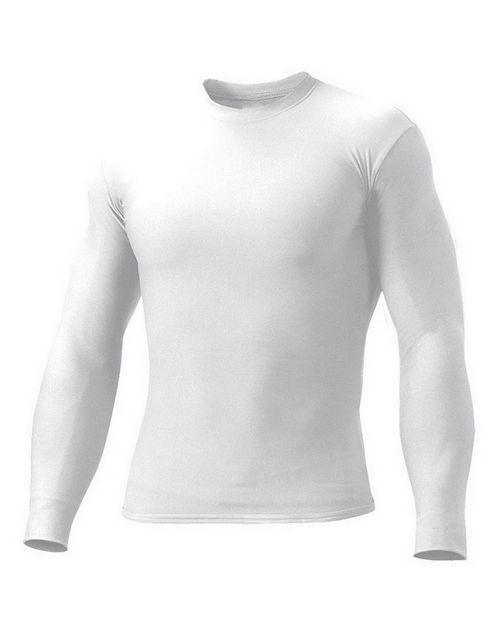 A4 N3133 Long Sleeve Compression Crew