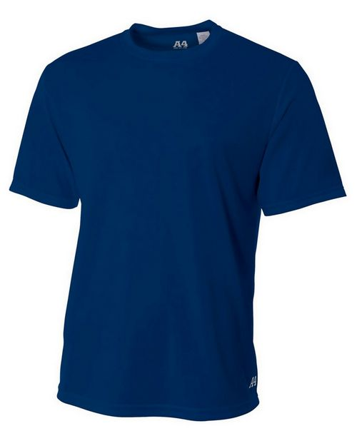 A4 N3252 Adult Textured Tech Tee