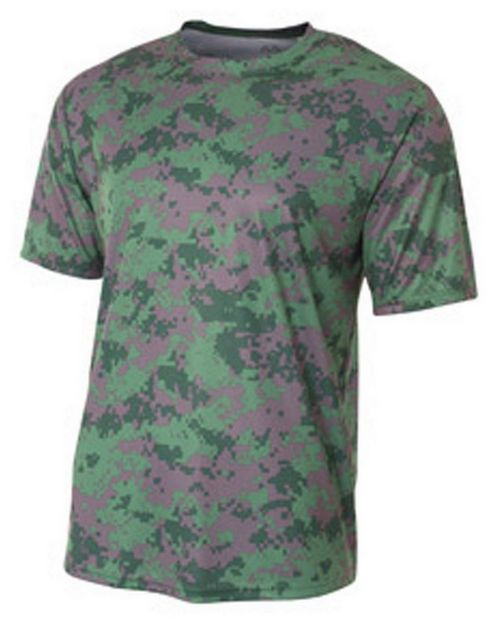 A4 N3256 Adult Camo Performance Tee