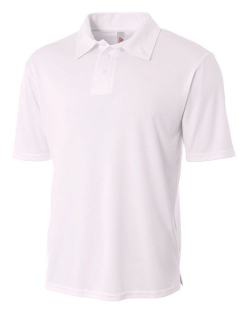 A4 N3261 Adult Circular Knit Performance Polo