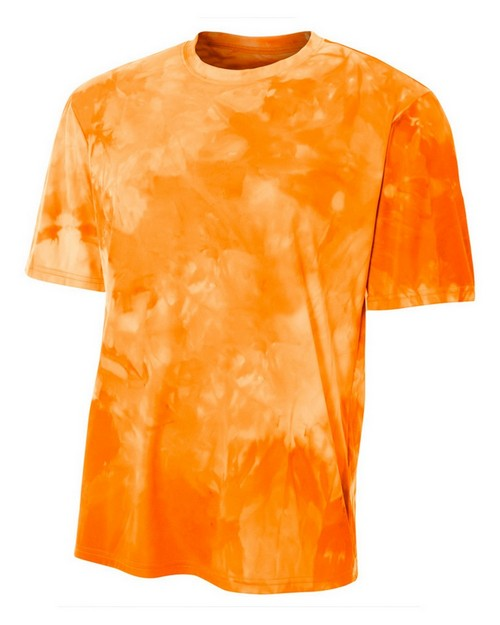 A4 N3295 Adult Cloud Dye Tech T-Shirt