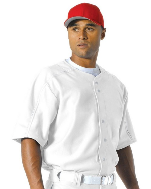 A4 N4214 Men's Warp Knit Baseball Jersey