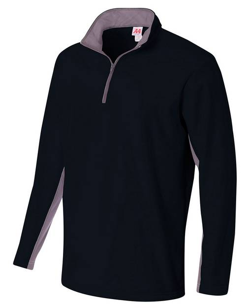 A4 N4246 Mens Tech Fleece 1/4 Zip Jacket