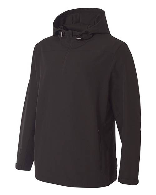 A4 N4263 Mens Force Water Resistant 1/4 Zip Hoodie