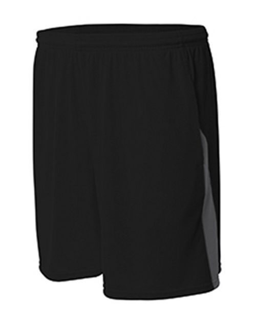 A4 N5005 Mens Color Block Pocketed Short