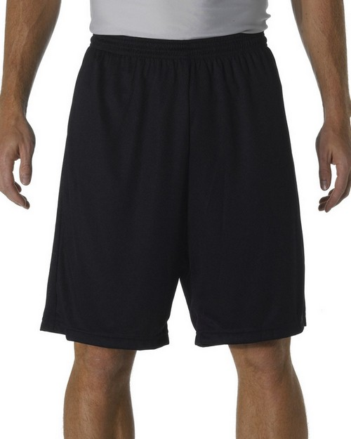 "A4 N5281 Adult Performance Practice 9"" Shorts"