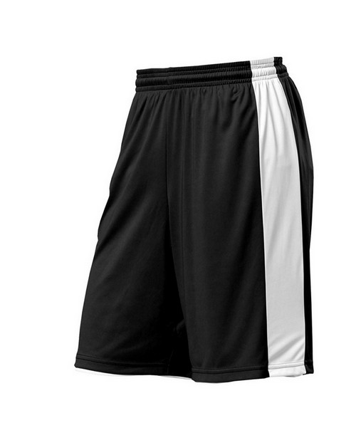 "A4 N5284 Adult 10"" Reversible Moisture Management Short"