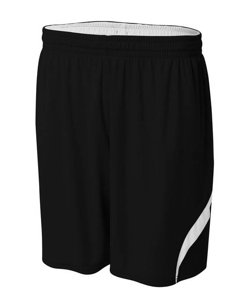 A4 N5364 Mens Performance Double Reversible Basketball Short