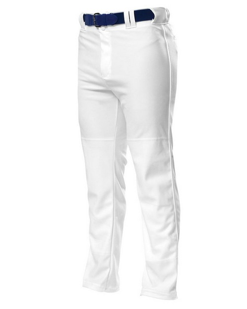 A4 N6162 Adult Pro Style Open Bottom Baggy Cut Baseball Pant