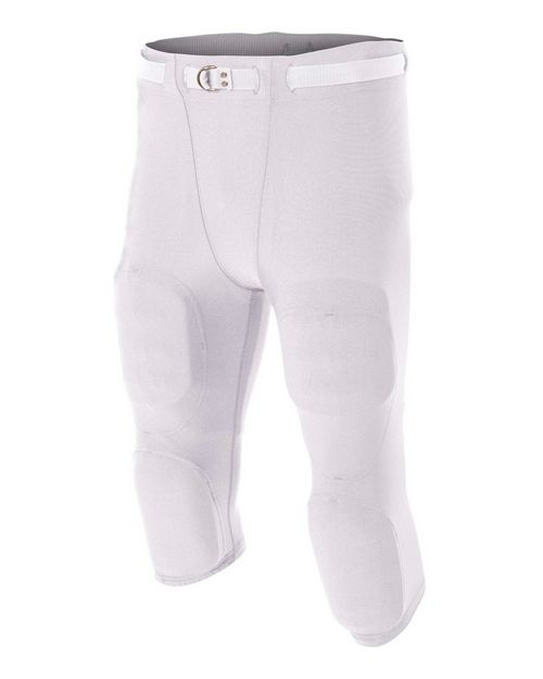 A4 N6181 Men's Flyless Football Pant