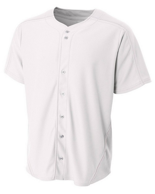 A4 NB4214 Youth Warp Knit Baseball Jersey