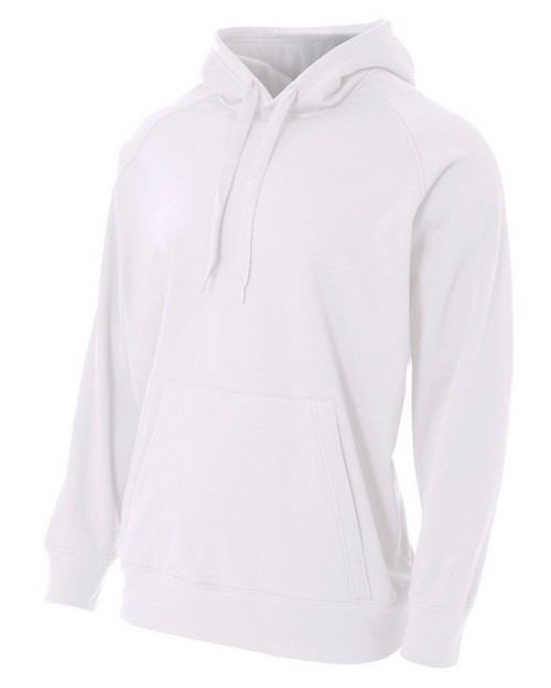 A4 NB4237 Youth Solid Tech Fleece Hoodie Pullover