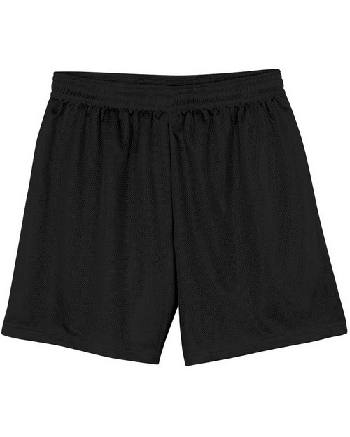 "A4 NB5184 Youth 6"" Lined Micromesh Shorts"