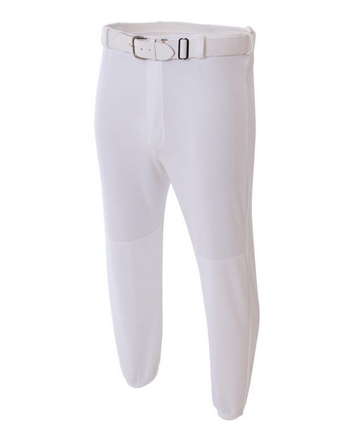 A4 NB6195 Youth Elastic Waist With Belt Loops Baseball Pant