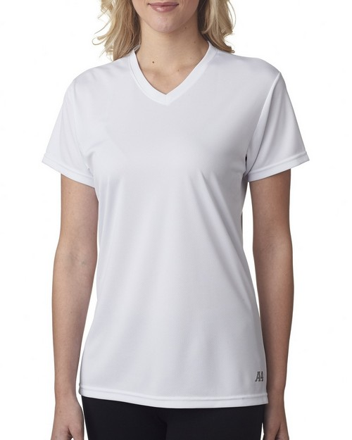 A4 NW3254 Ladies' Textured Tech Tee